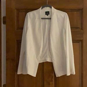 Adrianna Papell White blazer.